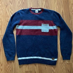 QuickSilver Men's Sweater Blue